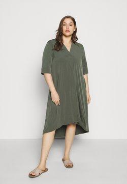 Evans - POCKET DRESS - Jerseykleid - khaki