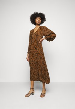 Faithfull the brand - FLORIAN WRAP DRESS - Freizeitkleid - kenya