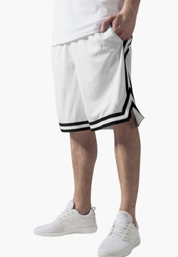 Urban Classics - STRIPES - Jogginghose - white, black