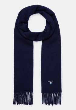 Barbour - PLAIN SCARF UNISEX - Schal - navy