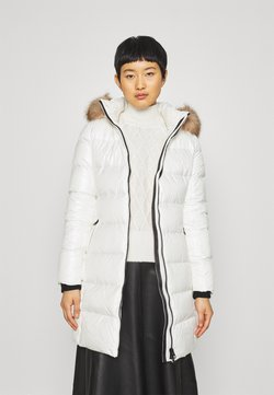 Calvin Klein - ESSENTIAL REAL COAT - Daunenmantel - snow white