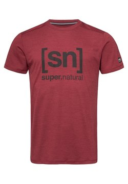 super.natural - T-Shirt print - red