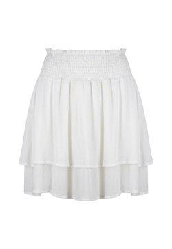 Jacky Luxury - A-lijn rok - white