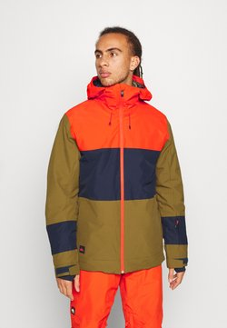 Quiksilver - SYCAMORE - Snowboard jacket - military olive