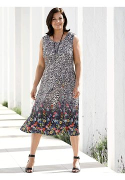M. COLLECTION - Jerseykleid - multicolor