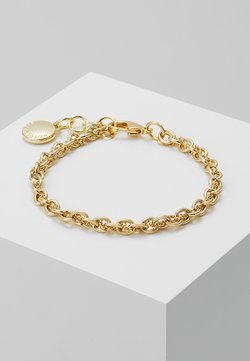 SNÖ of Sweden - SPIKE SMALL BRACE - Armbånd - plain gold-coloured