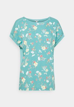 Esprit - T-Shirt print - turquoise