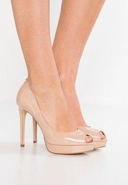 MICHAEL Michael Kors - ERIKA - Peeptoe heels - light blush