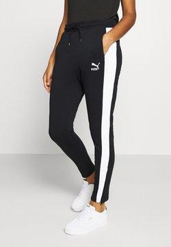 Puma - CLASSICS TRACK PANT  - Jogginghose - black
