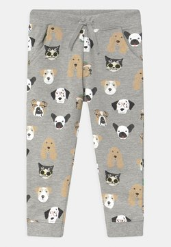 Name it - NMMTODOG  - Broek - grey melange