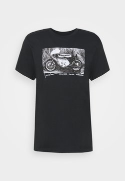 Fox Racing - YOSHIMURA RACER PROFILE TEE - T-Shirt print - black