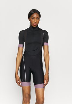 ONLY Play - ONPPERFORMANCE BIKE BIB - Tights - black/elderberry