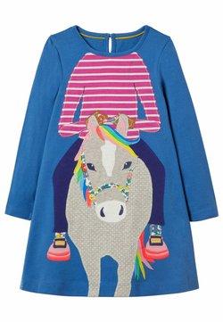 Boden - MIT GROSSER APPLIKATION - Jerseykleid - elisabethanisches blau, pferd