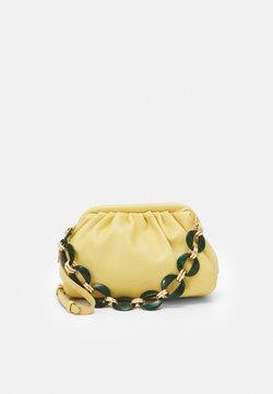 NAF NAF - RMALIBOO - Pikkulaukku - yellow