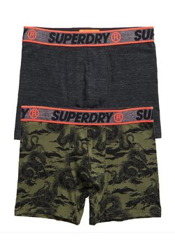 Superdry - 2PACK - Shorty - black feeder multipack