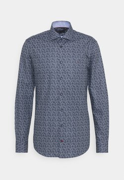 Tommy Hilfiger Tailored - FLORAL PRINT SLIM FIT - Hemd - navy/blue