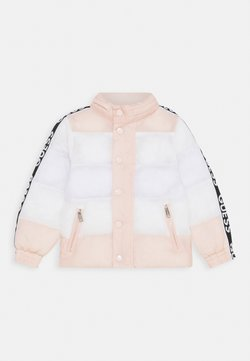 Guess - PADDED JACKET BABY UNISEX - Chaqueta de invierno - pink/white