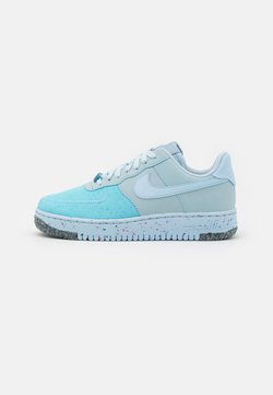 Nike Sportswear - AIR FORCE 1 CRATER - Sneaker low - chambray blue