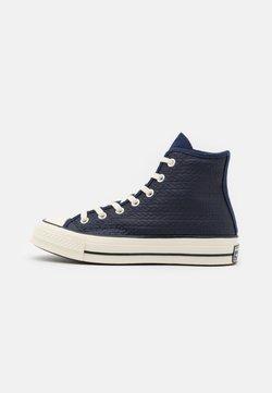 Converse - CHUCK 70 - Sneakersy wysokie - midnight navy/sea salt blue/egret