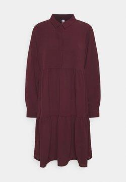 JDY - JDYPIPER DRESS - Skjortekjole - winetasting