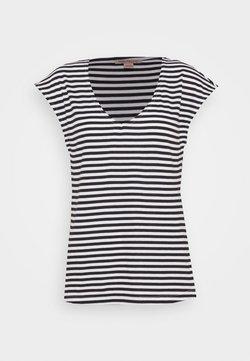 Anna Field Tall - T-Shirt print - black/white