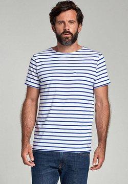 Armor lux - HOËDIC MARINIÈRE - T-Shirt print - blanc etoile