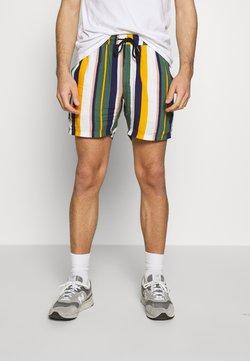 Redefined Rebel - RICK - Shorts - duck green stripe