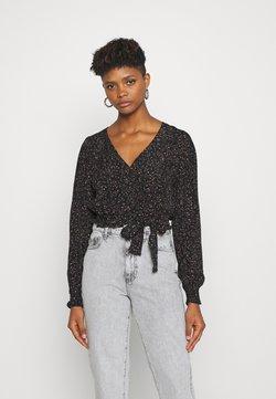 Cotton On - VINTAGE LONG SLEEVE BLOUSE - Bluse - black