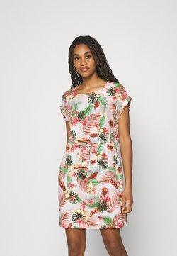 Vero Moda - VMSIMPLY EASY TIE SHORT DRESS - Robe d'été - birch/selma