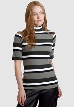 Laura Kent - T-Shirt print - schilf dunkelgrün