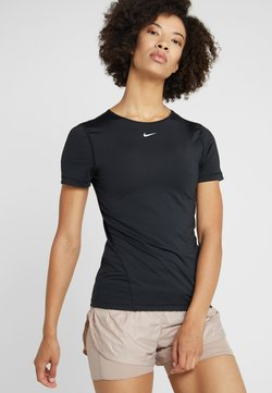 Nike Performance - ALL OVER - T-Shirt basic - black/white