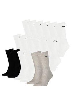 Puma - 18 PACK - Sportsocken -  white/grey/black