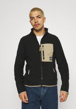 Redefined Rebel - TURNA JACKET - Fleece jacket - black
