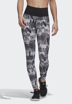 adidas Performance - BELIEVE THIS ITERATIONS LEGGINGS - Medias - grey
