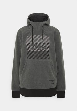 Superdry - SNOW TECH HOOD - Kurtka narciarska - charcoal