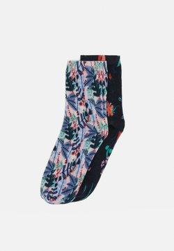 s.Oliver - FLOWER SOCKS 4 PACK - Socken - chrystal pink