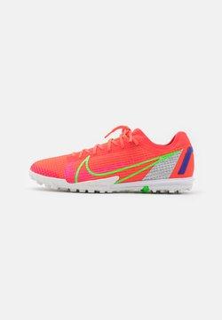 Nike Performance - MERCURIAL ZOOM VAPOR 14 PRO TF - Voetbalschoenen voor kunstgras - bright crimson/metallic silver