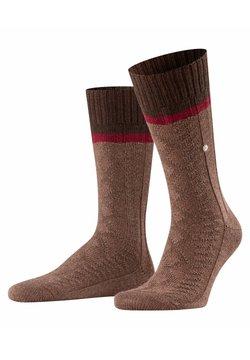 Burlington - Socken - dark brown