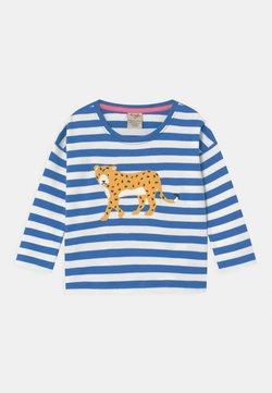 Frugi - TORI LEOPARD STRIPE  - T-shirt à manches longues - blue
