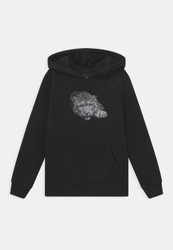 Mister Tee - LEOPARD POSE HOODY UNISEX - Sweatshirt - black