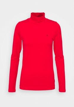 Calvin Klein - TURTLE NECK - Långärmad tröja - red
