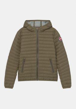 Colmar Originals - REPUNK UNISEX - Down jacket - artichoke-light steel