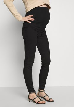 New Look Maternity - SERENA - Vaqueros slim fit - black