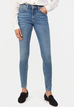 WE Fashion - MET VINTAGE WASSING - Jeans Skinny Fit - blue