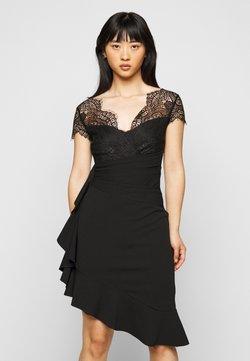 SISTA GLAM PETITE - LYNDIA - Vestido de cóctel - black