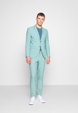 Selected Homme - SLHSLIM MYLOLOGAN - Anzug - green milieu