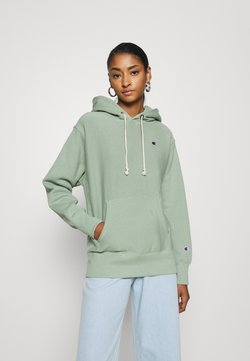 Champion Reverse Weave - HOODED - Hoodie - green