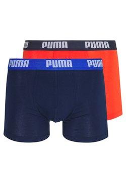 Puma - BASIC 2 PACK - Shorty - blue/red