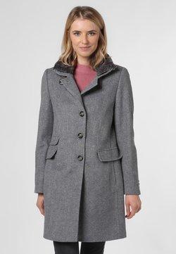 Franco Callegari - Klasyczny płaszcz - grau