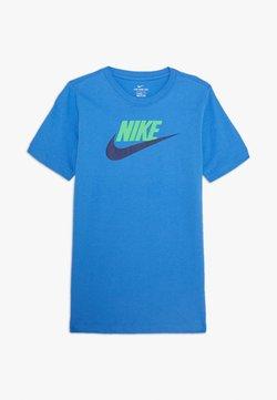 Nike Sportswear - FUTURA ICON - T-Shirt print - pacific blue